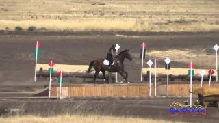 066XC Jessie Jellison On Oliver Open Novice Cross Country Camelot July 2015