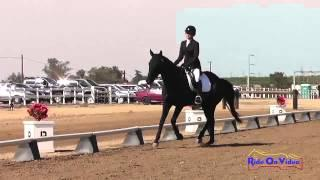 030D Jennifer Winters on Street Legal Preliminary Rider Dressage Fresno County Horse Park Oct 2014