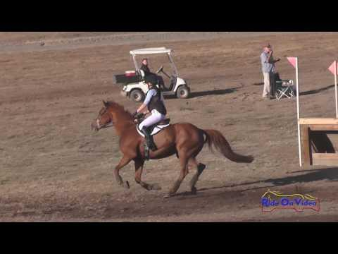 127XC Hayley Baker On Red Solo Cup JR Training Cross Country Woodside October 2016