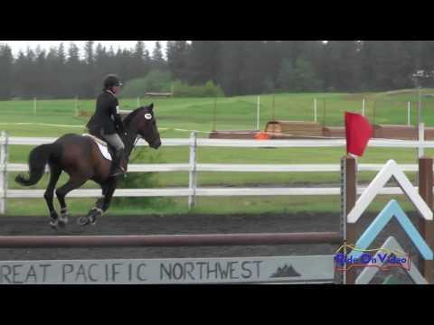 256S Patricia Cava On Carter Open Preliminary Show Jumping Spokane Sport Horse HT May 2016