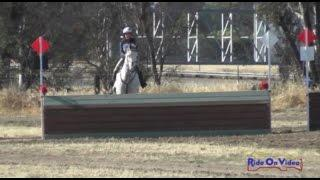 039XC Delaney Vaden on Call Me Hobbes YR Training Cross Country FCHP April 2015