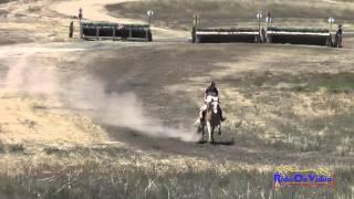 338XC Tracy Alves On Mr  Harry Buckley SR Beginner Novice Cross Country Woodside August 2015