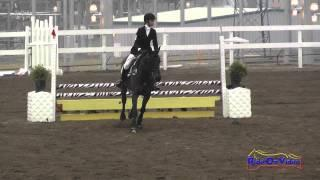 165S Isabella Dowen on Whitaker JR Beginner Novice Show Jumping FCHP November 2014