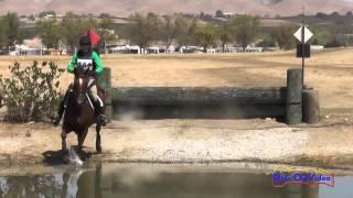144XC Attila Rajnai on Mercury Rose Training Horse Cross Country Twin Rivers Ranch Sept 2014