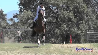 121XC Madison Gentry On Tiara's Rose Intro Cross Country Shepherd Ranch August 2015
