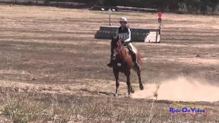 123XC Mattea Curtis on Incredible Red JR Training Cross Country Woodside Int'l Event Oct 2014
