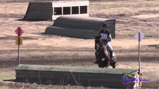 367XC Bethany Wallace on Continuum Open Beginner Novice Cross Country Woodside Int'l Event Oct 2014