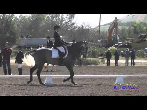 130D Maddy Mazzola JR/YR Open Preliminary Dressage Twin Rivers Ranch April 2016