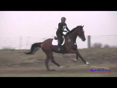 040XC Jessie Jellison On Oliver SR Training Cross Country FCHP November 2015
