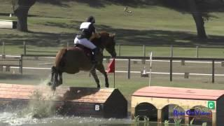 028XC Tracy Alves On Romulus Training Rider Cross Country Shepherd Ranch August 2015