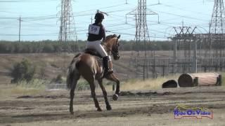 059XC Dana Spafford on Rocky SR Training Cross Country FCHP April 2015