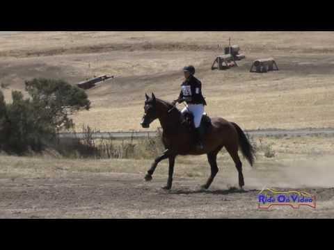 315XC Alysia DeLeeuw On Cheyenne SR Beginner Novice Cross Country Woodside August 2016