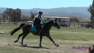 096XC Sarah Rune On Famous Shoes Intro Cross Country Shepherd Ranch August 2015