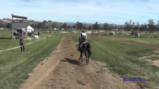 243XC Roberta Zajac on Mud Open Beginner Novice Cross Country Copper Meadows March 2015