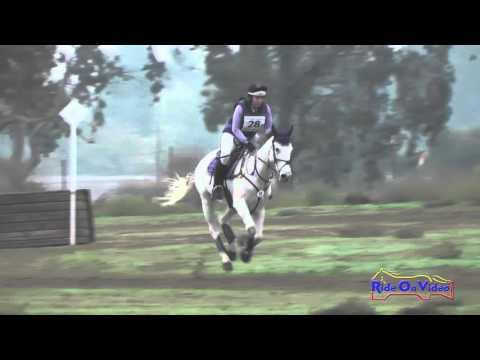 028XC Sarah Moseley On Earl Of Foxpoint JR Training Cross Country FCHP November 2015