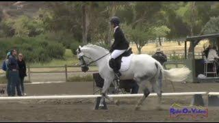 172D Charlotte Zovighian On NORTHERN VICTORY JR Beginner Novice Dressage Galway Downs May 2015
