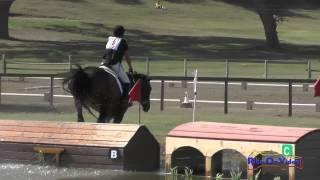 018XC Courtni Ellis On Chance II Training Rider Cross Country Shepherd Ranch August 2015