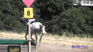 223XC Annie Desmond On Sir Cantaro Cru SR Novice Amateur Cross Country Woodside August 2015