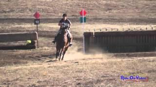 102XC Theresa Smrt on Landmark Preliminary Rider Cross Country Woodside Int'l Event Oct 2014