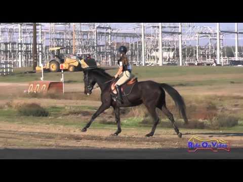 206XC Ella Holthe On Stephany Intro Cross Country FCHP November 2015