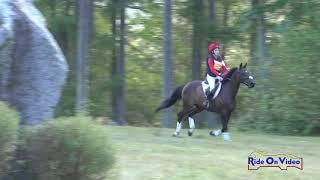 154XC Morgan Swaan on Far Cry Open Training Cross Country Aspen Farms Sept. 2018