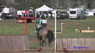 220XC Hailey Johnson on Paint Me Perfect JR Novice Cross Country Copper Meadows March 2015