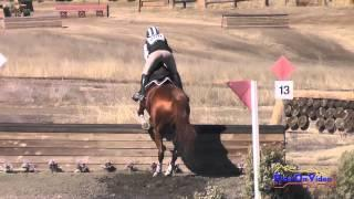 288XC Kaitlin Vosseller Area VI Champs Novice Rider Cross Country Woodside Int'l Event Oct 2014