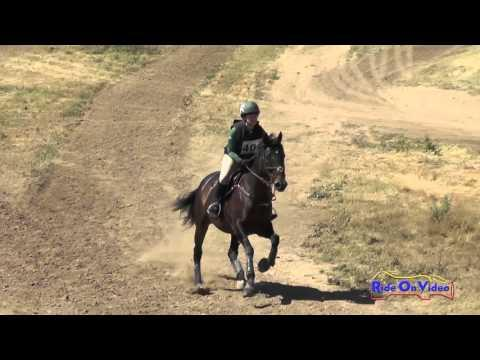 401XC Nicole Horton On Stella Rose SR Beginner Novice Cross Country Twin Rivers Ranch April 2016