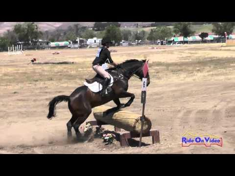 459XC Anna Lewis On Whitaker SR Novice AM Cross Country Twin Rivers Ranch April 2016