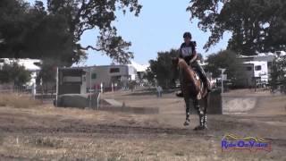 052XC Katelynn Grubich on Kaptain Jak JR/YR Preliminary Cross Country Woodside August 2014