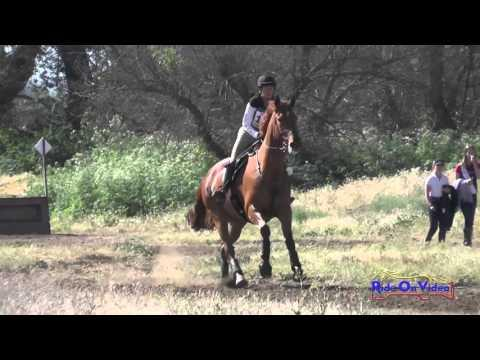 138XC Aimee Witherspoon On Chet The Jet Preliminary Rider Cross Country Twin Rivers Ranch April 2016