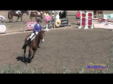 091S Jolie Wentworth On So Cool CCI1* Show Jumping Galway Downs Int'l Nov. 2015