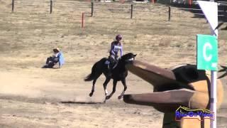 301XC Andrea Baxter Open Novice Cross Country Woodside Int'l Event Oct 2014