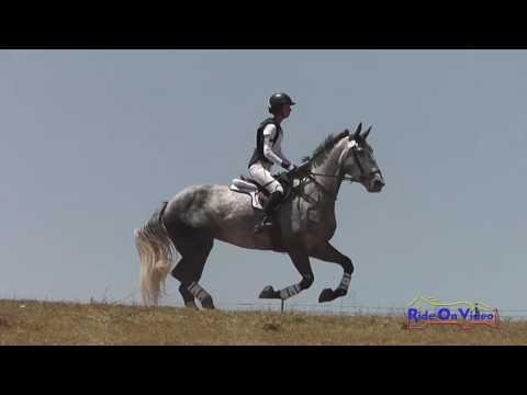 142XC Becky Leisz On Valentina Open Beginner Novice Cross Country Shepherd Ranch June 2016