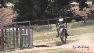 108XC Joseph McKinley On Free Rayn Majesty Open Training Cross Country Shepherd Ranch June 2015