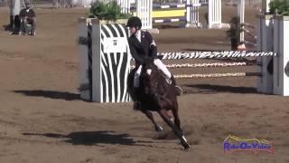 057S Adison LoPiccolo on Venado YR Training Show Jumping Fresno County Horse Park Oct 2014