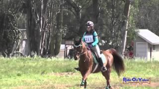 217XC Lauren Jamison on Bird is the Word JR Novice Cross Country Copper Meadows March 2015