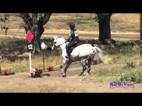458XC Erin McPherson On Danseur Japur Open Novice Cross Country Twin Rivers Ranch April 2016