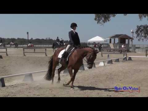 276D Genevieve Davidson On Luna's Eclipse JR Beginner Novice Dressage Woodside August 2016