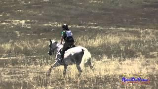 329XC Melissa Hollatz On Fiona SR Beginner Novice Cross Country Woodside August 2015