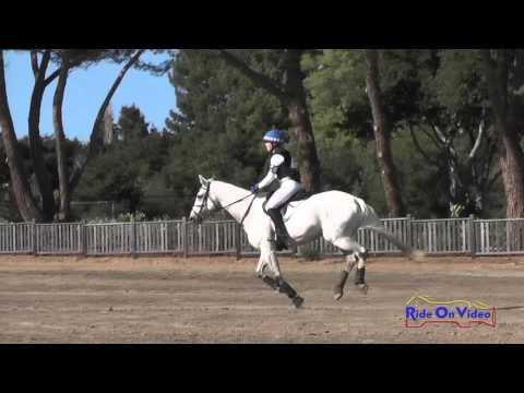 149XC Mallory Tevini On Snowy's Olivia JR Training Cross Country Woodside Oct 2015