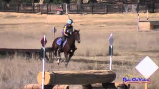 019XC Pam Fisher on Rigby CIC2* Cross Country Woodside Int'l Event Oct 2014