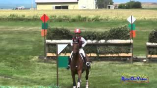 047XC Tamra Smith On Under Wraps CCI1* Cross Country The Event At Rebecca Farm July 2015
