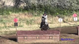 235XC Tamra Smith on Intrepid Open Training Cross Country Twin Rivers Ranch April 2015