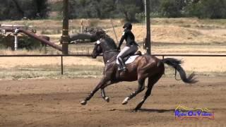 114S Victoria Garvin On Huckle JR/YR Open Preliminary Show Jumping Twin Rivers Ranch April 2015