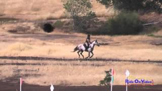 020XC Brianna Gamache On Free Rayn Majesty JR/YR Training Cross Country Camelot July 2015