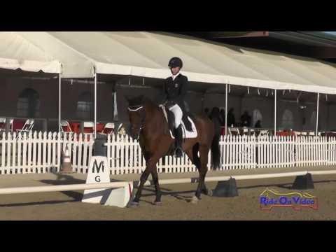011D Avery Klunick On Ringwood Army CIC2* Dressage Woodside October 2016