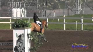 198S Claire Poch on Carrot Cake JR Novice Show Jumping FCHP February 2015