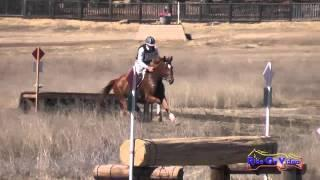 022XC James Atkinson on Gustav CIC2* Cross Country Woodside Int'l Event Oct 2014