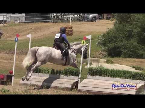 149XC Anita Parra On Sterling SR Beginner Novice Cross Country Shepherd Ranch June 2016
